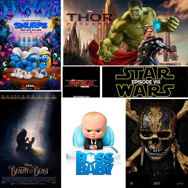 Cine infantil 2017