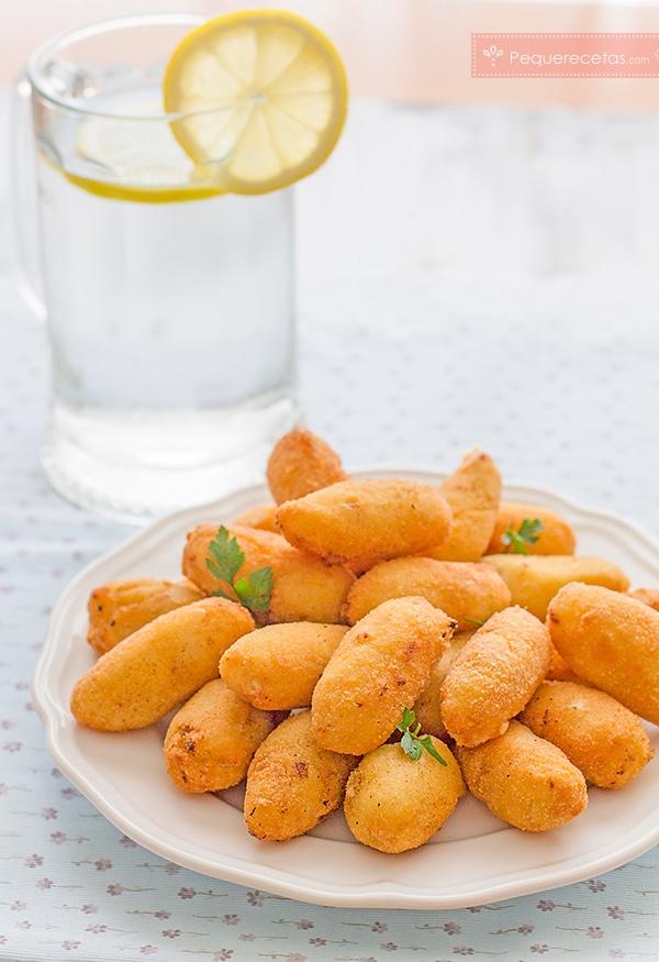 Recetas de croquetas de pollo
