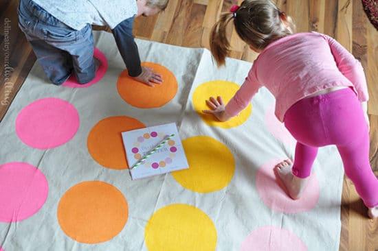 Juegos para hacer en casa con los niños