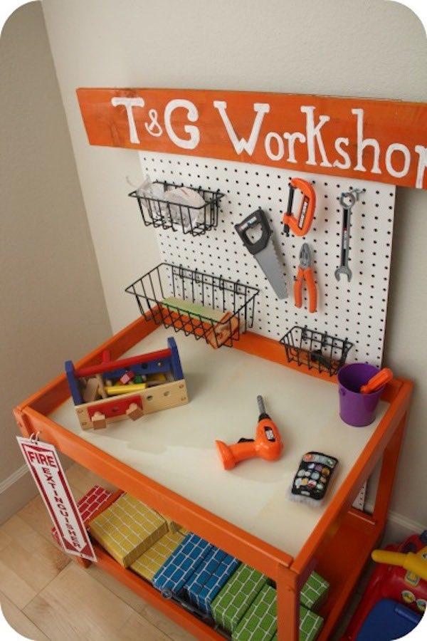 Ikea Hack cambiador de bebèe