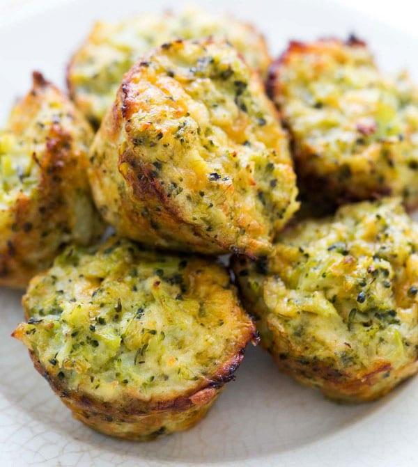 muffins salados de brocoli