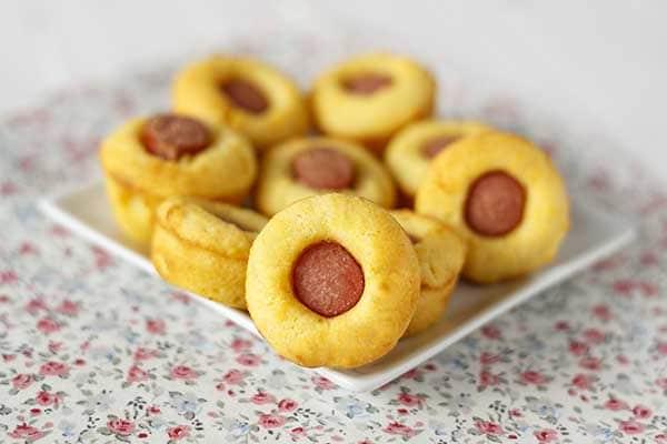 muffins salados de salchichas