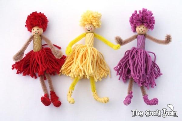 Cómo hacer pompones de lana fáciles, ¡y triunfar! - Pequeocio
