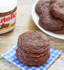 galletas de nutella receta