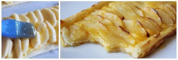 Tarta de manzana con hojaldre 3