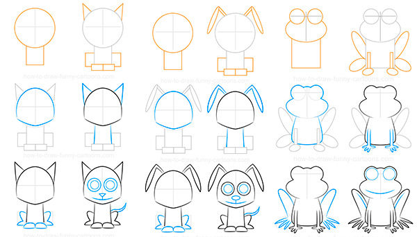 Cómo dibujar animales
