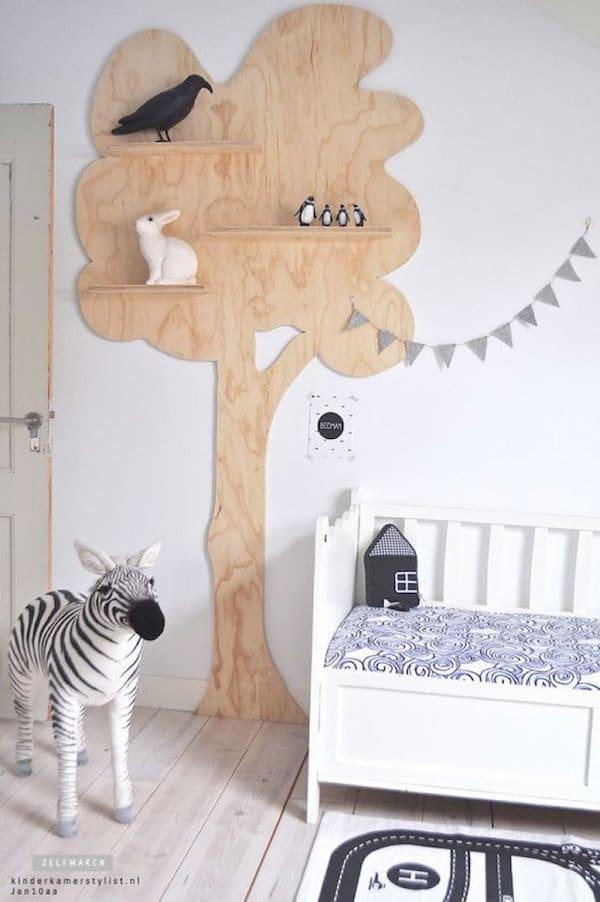 Estantes y baldas para habitaciones infantiles