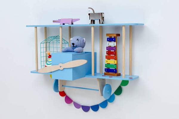 Las estanter as infantiles m s originales pequeocio for Estanteria pared infantil