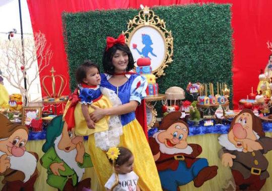Fiesta de cumpleaños de princesas