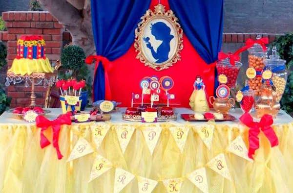 Cumpleaños temático de princesas