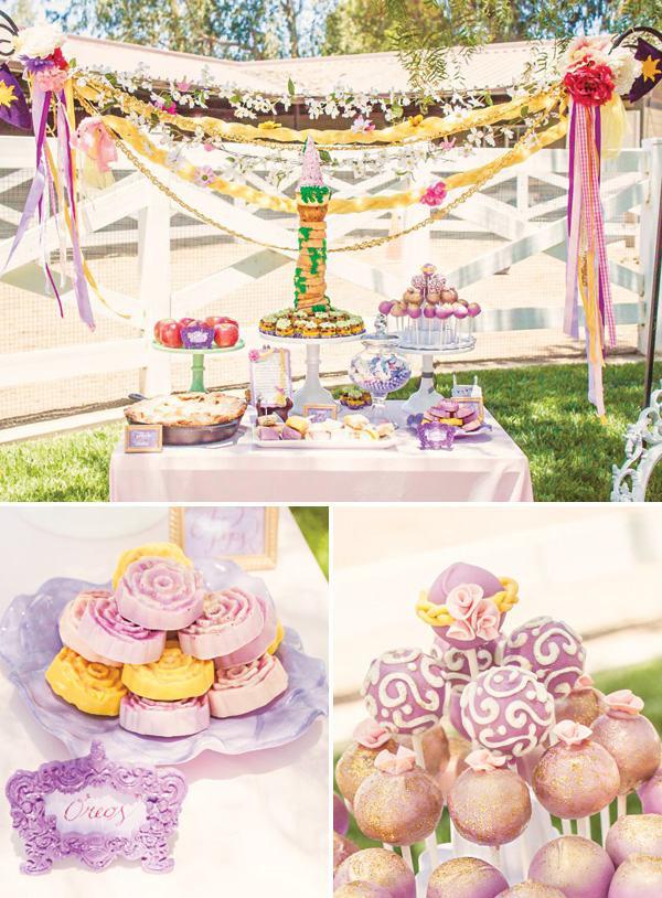 Fiestas temáticas de princesas