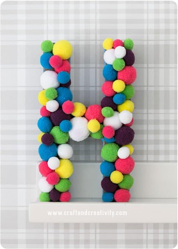 Cómo hacer letras decorativas