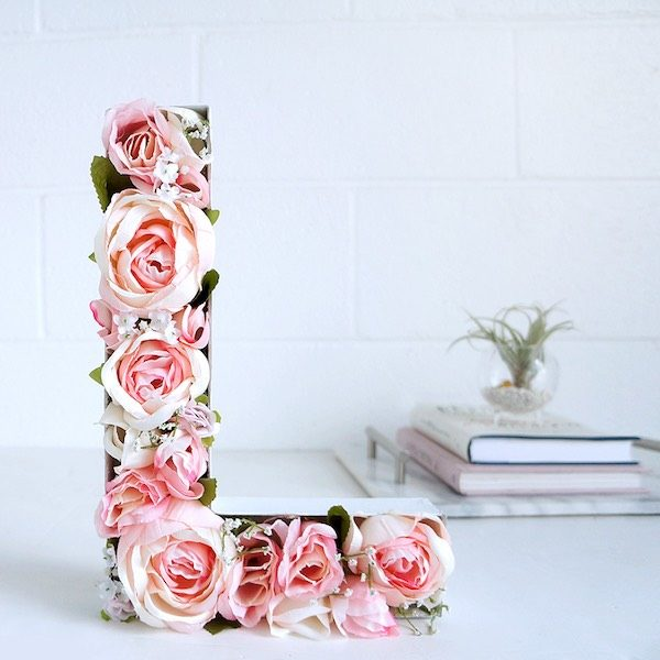 An mate a hacer letras para decorar f ciles y divertidas - Letras decorativas pared ...