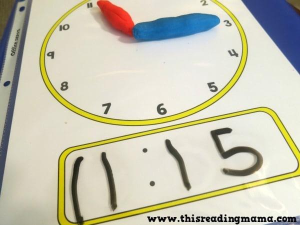 Aprender la hora con el método Montessori