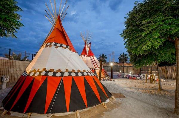 Camping en la Costa Dorada
