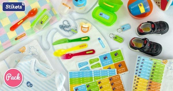 Etiquetas personalizadas para niños