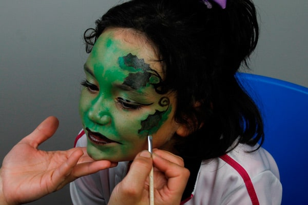 Maquillaje para Halloween fácil