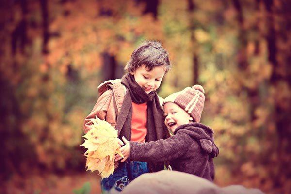 actividades para niños otoño