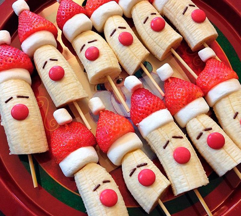 Postres de Navidad faciles para niños