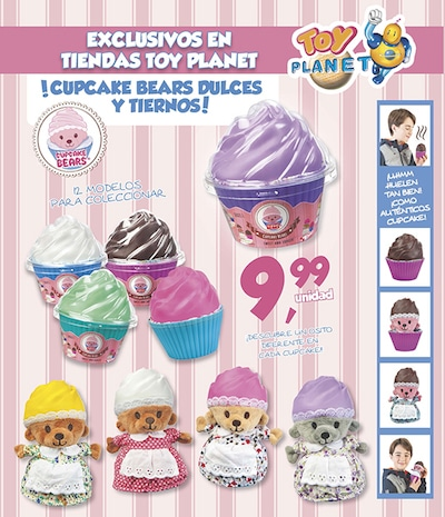 ¡Los encantadores Cupcake Bears llegan a Toy Planet! 3
