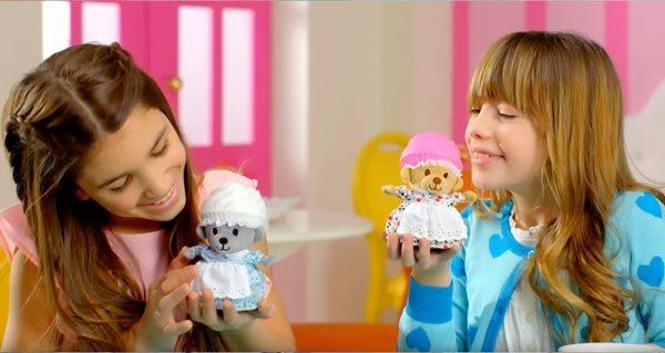 ¡Los deliciosos juguetes Cupcake Bears! 1
