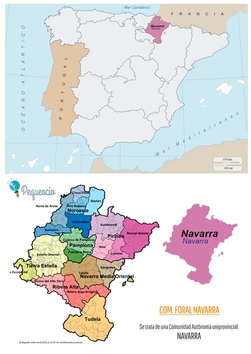 mapa comunidad navarra