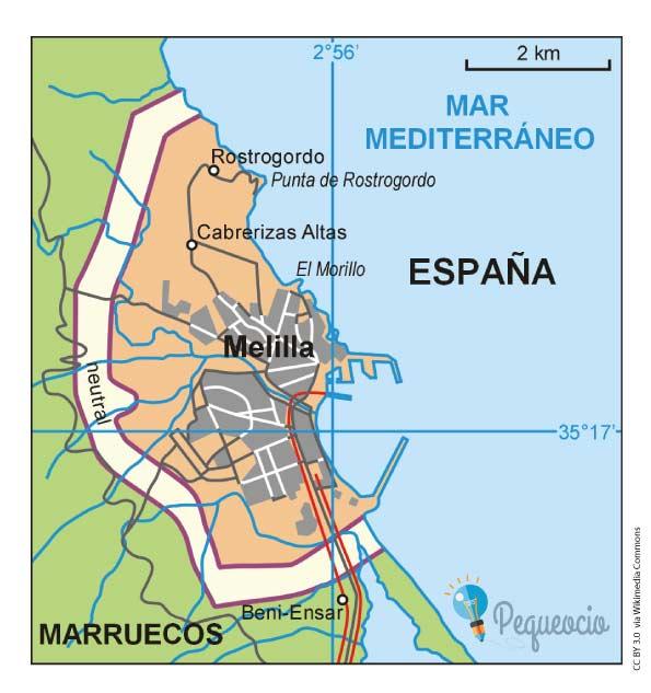 Mapas de España por comunidades