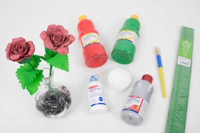 Cómo hacer una rosa para el Día de la Madre 10