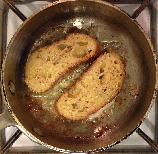 como hacer tostadas francesas