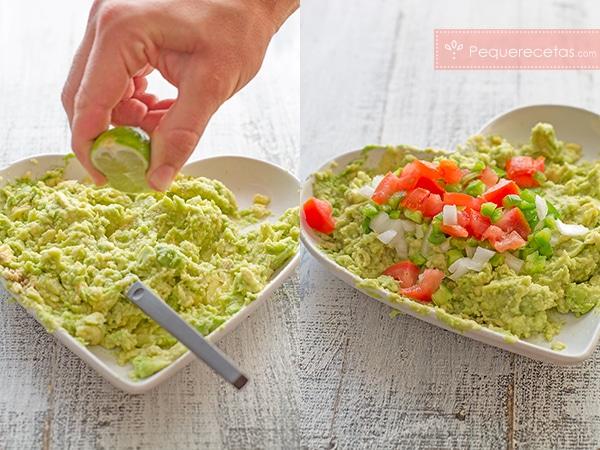 recetas con aguacate guacamole