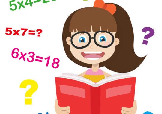 Aprender las tablas de multiplicar
