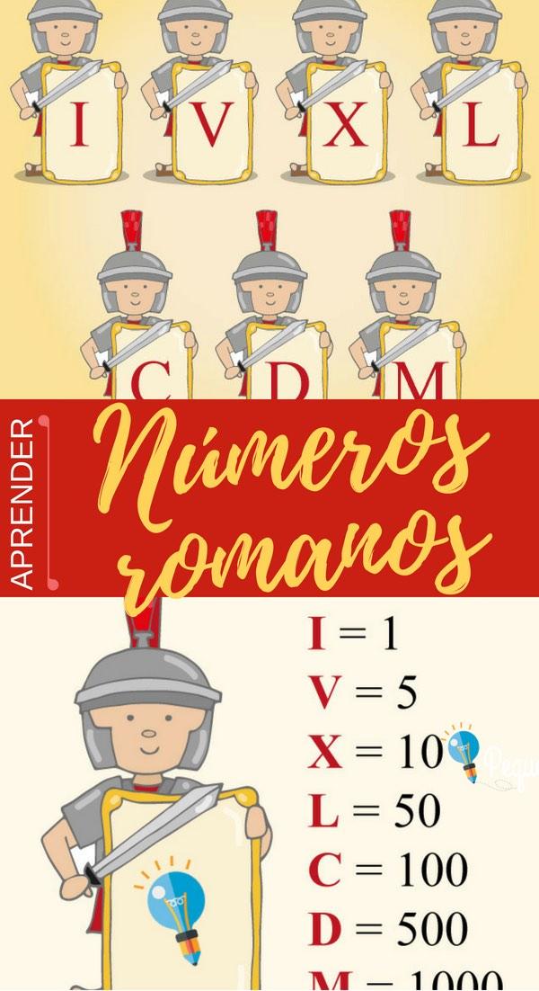 Números romanos para primaria