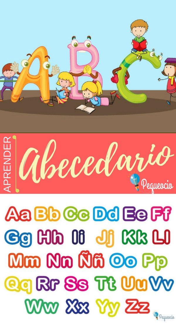 Abecedario o alfabeto para niños