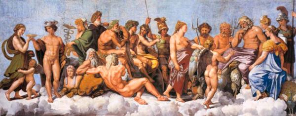 dioses griegos mitologia griega