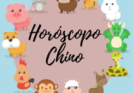 Horóscopo chino animales