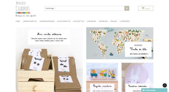 Menudos Cuadros Tienda online