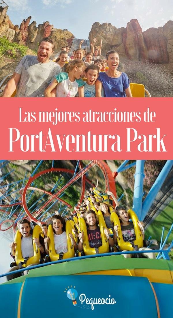 Toda la infornación necesaria para visitar PortAventura Park: cuáles son sus áreas temáticas, las mejores atracciones de PortAventura; horarios y tarifas del parque, consejos prácticos, cómo llegar a PortAventura y mucho más