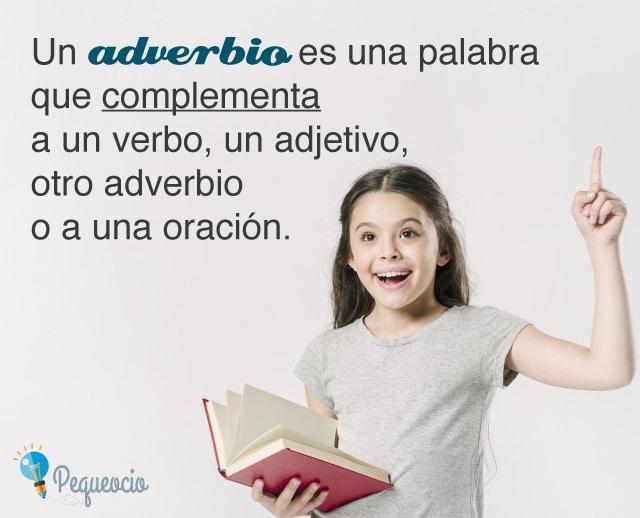 Ejemplos de adverbios
