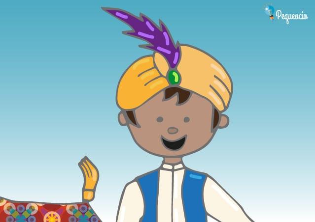Cuento Aladino y la lámpara