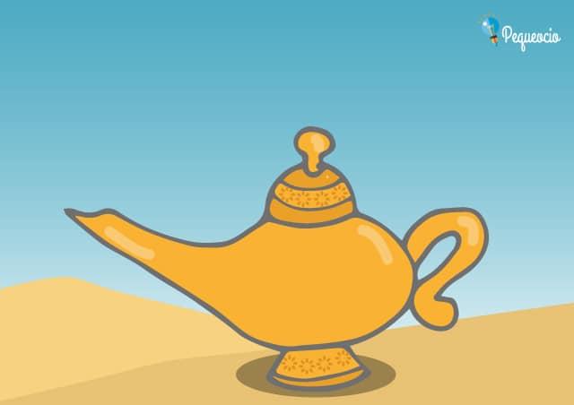 Cuento infantil Aladino