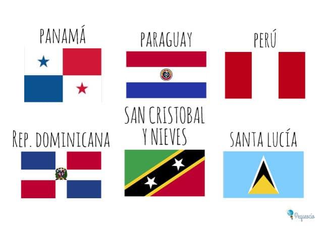 Banderas nacionales del mundo
