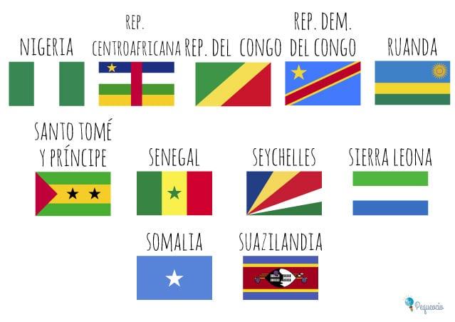 Banderas Del Mundo Para Imprimir Gratis Pequeociocom