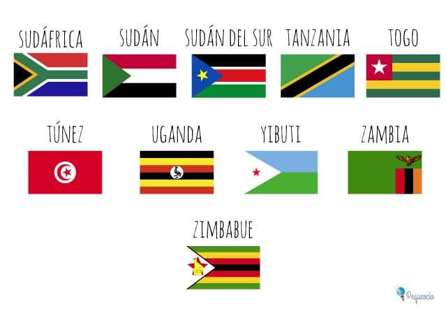 Banderas de todos los países