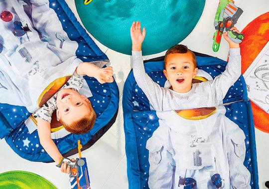 camas hinchables para niños