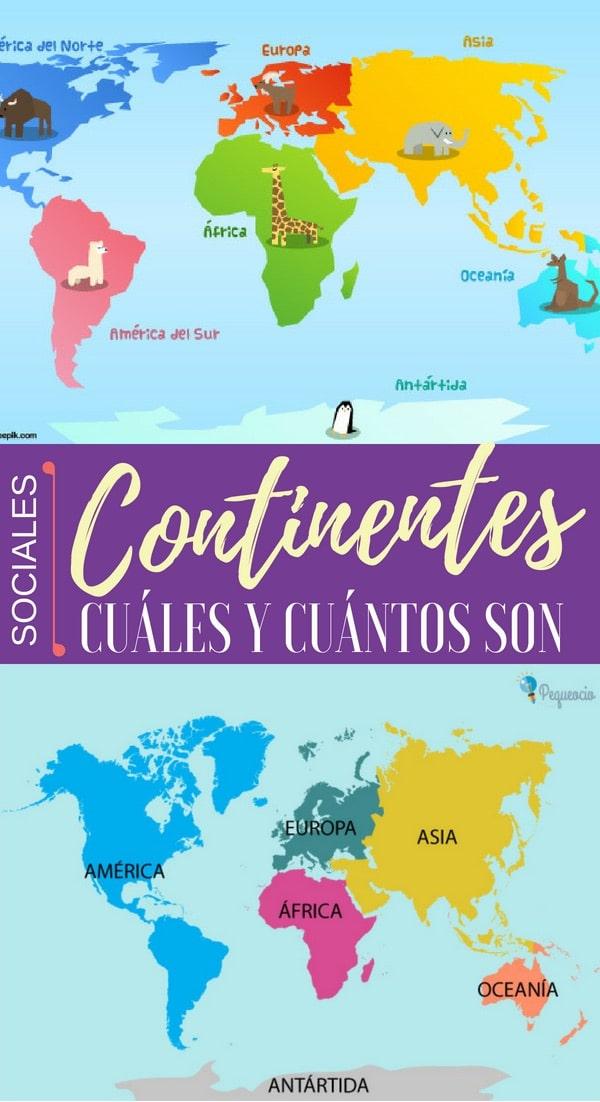 Continentes cuántos son