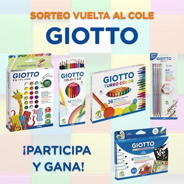 SORTEO: ¡Gana un lote de productos Giotto para la vuelta al cole! 4