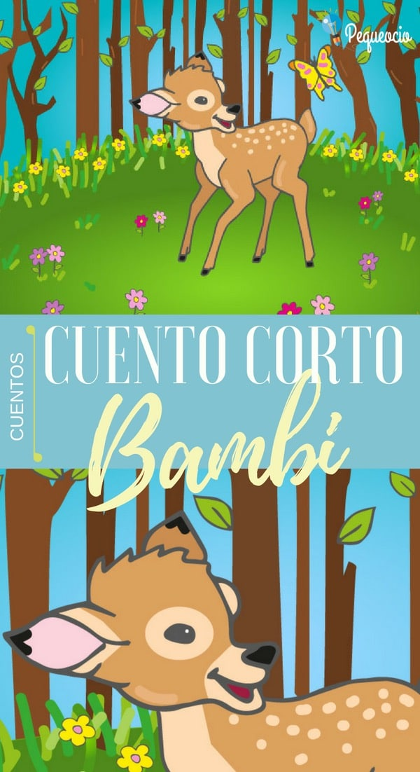 Cuento corto Bambi