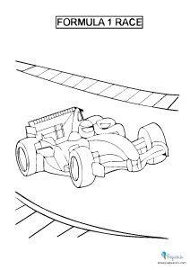 Dibujos para colorear de coches