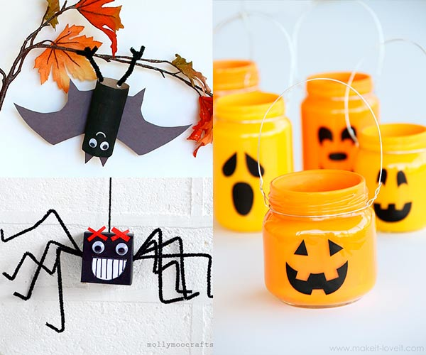 Manualidades fáciles de Halloween