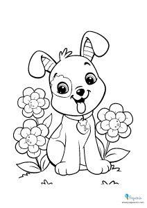 Perros para colorear